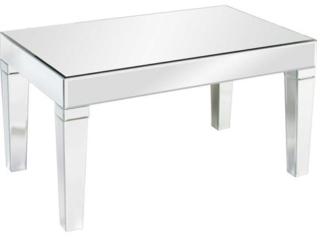 Howard Elliott Leo 36 x 21 Retangular Mirrored Coffee Table