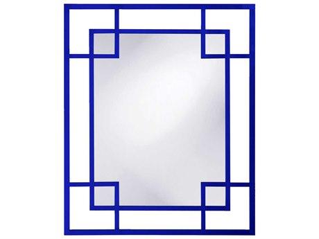 Howard Elliott Lois 43 x 53 Blue Wall Mirror