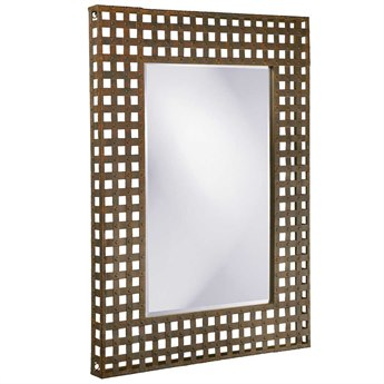 Howard Elliott Chateau 31 X 41 Black Wall Mirror He2113bl