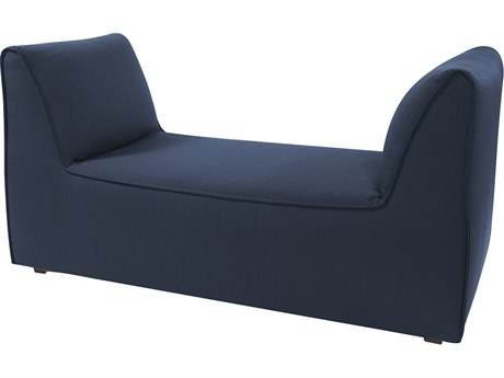Howard Elliott Pod Sterling Indigo Accent Bench