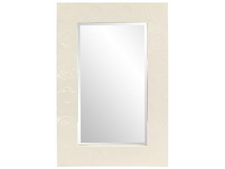Howard Elliott Rhumba Cream Lacquer Wall Mirror