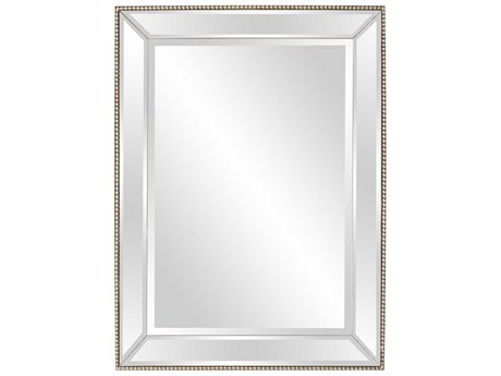 Howard Elliott Roberto 36'' W x 48'' H Mirrored Wall Mirror