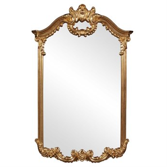 Howard Elliott Roman 32 x 51 Gold Wall Mirror