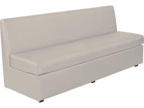 Howard Elliott Slipper Luxe Mercury Loveseat Sofa HE858770