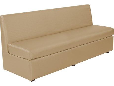 Howard Elliott Slipper Luxe Gold Loveseat Sofa