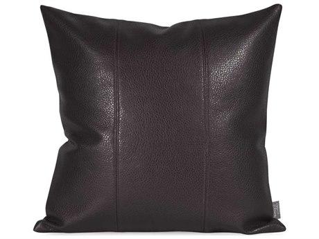 Howard Elliott Square 16 x 16 Black Pillow HE1194
