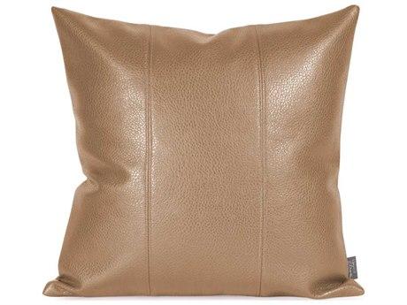 Howard Elliott Square 16 x 16 Brown Pillow HE1191