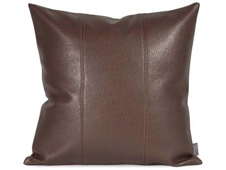 Howard Elliott Square 16 x 16 Brown Pillow HE1192