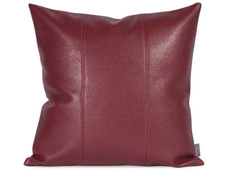 Howard Elliott Square 16 x 16 Red Pillow HE1193