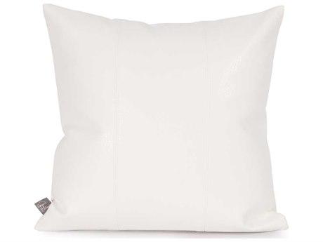 Howard Elliott Square 16 x 16 White Pillow HE1190