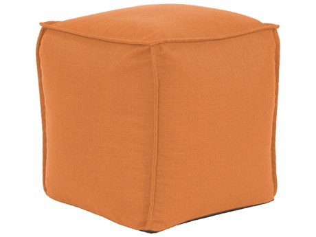 Howard Elliott Square Pouf Sterling Canyon Ottoman HE873229