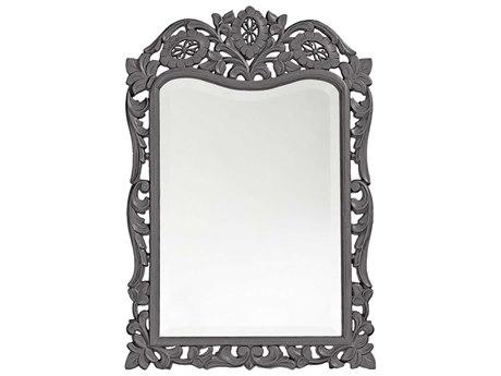 Howard Elliott St. Agustine 20 x 29 Charcoal Gray Wall Mirror
