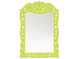 St. Agustine 20 x 29 Green Wall Mirror