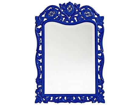 Howard Elliott St. Agustine 20 x 29 Royal Blue Wall Mirror