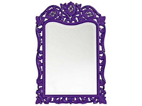 Howard Elliott St. Agustine 20 x 29 Royal Purple Wall Mirror HE4085RP