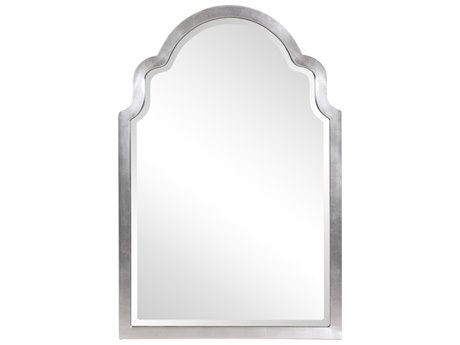 Howard Elliott Sultan Bright Silver Wall Mirror