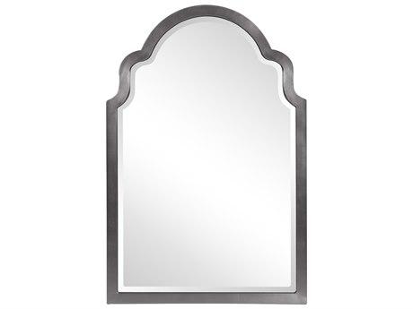 Howard Elliott Sultan Glossy Charcoal Wall Mirror