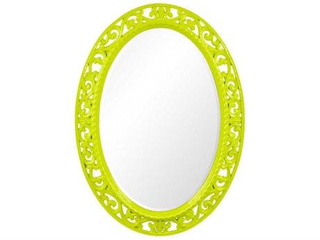 Howard Elliott Suzanne 27 x 37 Glossy Green Mirror HE2123MG