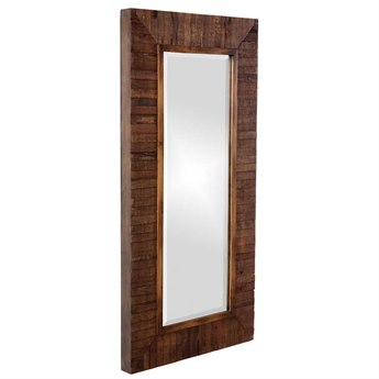 Howard Elliott Timberlane 24 x 48 Brown Wall Mirror HE14234