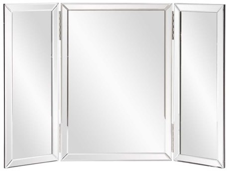 Howard Elliott Tripoli Trifold Vanity 21 x 21 Wall Mirror