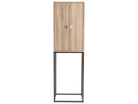 Howard Elliott Natural Wood 19.5'' x 15.5'' Tall Cabinet HE83042