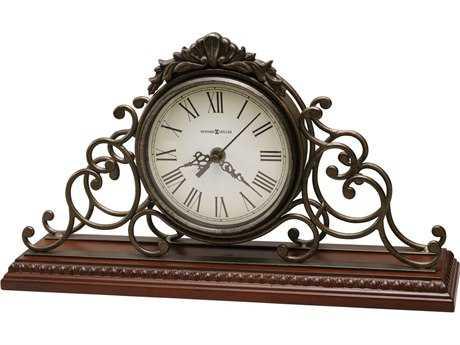 Howard Miller Adelaide Windsor Cherry Ornate Mantel Clock