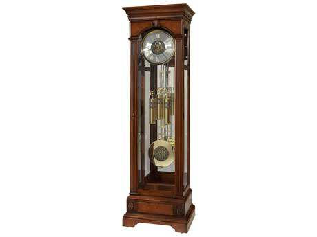 Howard Miller Alford Hampton Cherry Floor Clock HOW611224