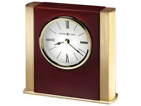 Howard Miller Ambrose Rosewood Hall Table Clock