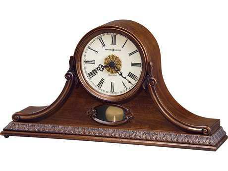 Howard Miller Andrea Hampton Cherry Mantel Clock