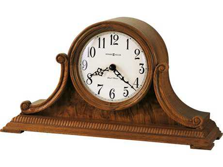 Howard Miller Anthony Oak Yorkshire Tambour Mantel Clock HOW635113