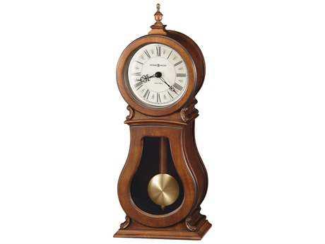 Howard Miller Arendal Mantel Tuscany Cherry Sofa Table Clock