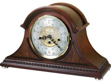 Howard Miller Barrett Windsor Cherry Tambour Mantel Clock HOW630200