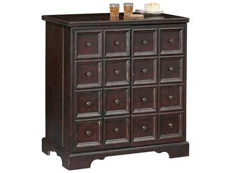 Howard Miller Brunello Antique Black Wine & Bar Cabinet HOW695160
