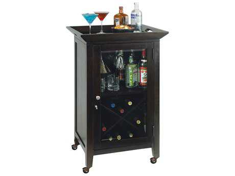 Howard Miller Butler Black Coffee Wine & Bar Cabinet HOW695074