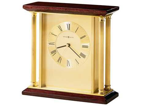 Howard Miller Carlton Rosewood Hall Table Clock HOW645391