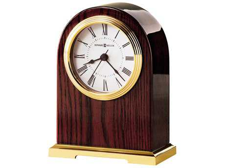 Howard Miller Carter Rosewood Hall Table Clock HOW645389