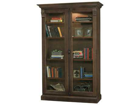 Howard Miller Chadsford Aged Umber Curio Cabinet HOW670040