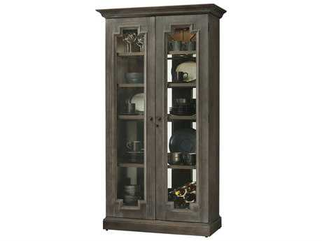 Howard Miller Chasman Aged Auburn Display Cabinet
