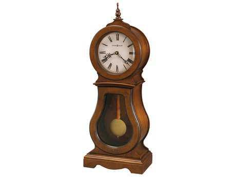Howard Miller Chestnut Sofa Table Clock