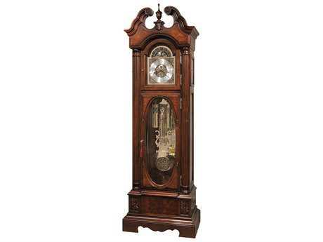 Howard Miller Coolidge Saratoga Cherry Floor Clock