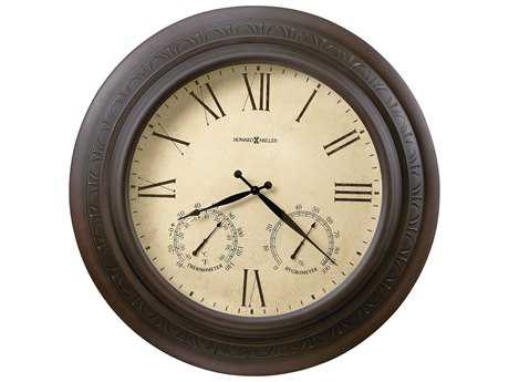 Howard Miller Copper Harbor Antique Copper Oversized Gallery Wall Clock HOW625464