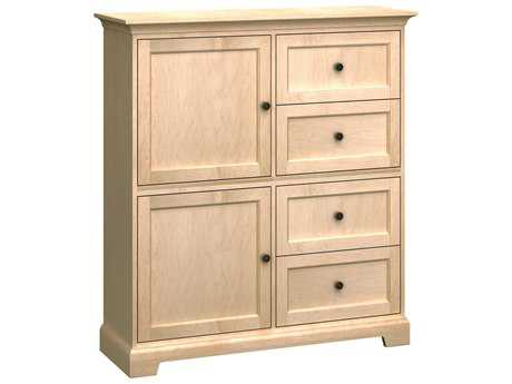 Howard Miller Custom Four-Drawer Storage Cabinet HOWHS50D