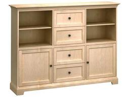 Custom Four-Drawer Storage Cabinet