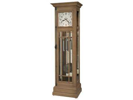 Howard Miller Davidson II Aged Natural  Floor Clock