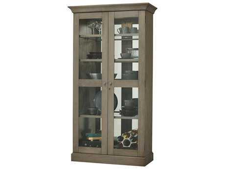 Howard Miller Densmoore II Aged Grey Display Cabinet