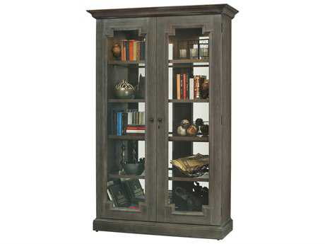 Howard Miller Desmond Aged Auburn Display Cabinet