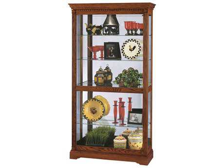 Howard Miller Donegal Oak Yorkshire Curio Cabinet HOW680339