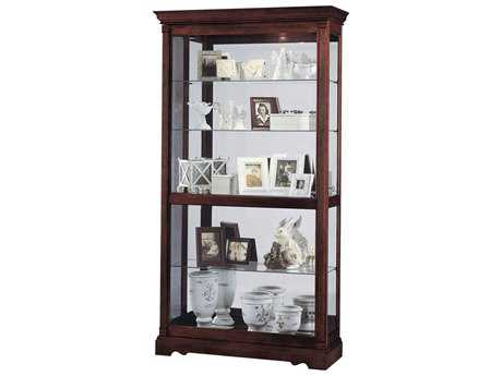 Howard Miller Dublin Windsor Cherry Curio Cabinet HOW680337