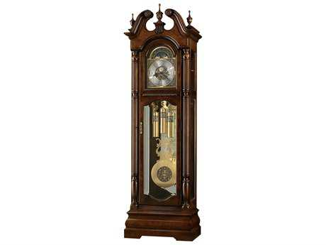 Howard Miller Edinburg Cherry Bordeaux Floor Clock