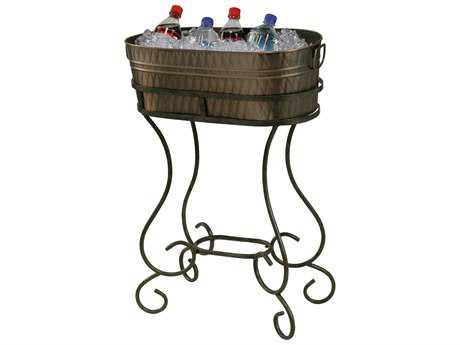 Howard Miller Entertainment Copper-Plated Beverage Tub Rack HOW655145